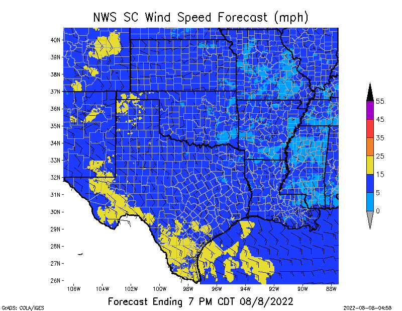 SC Wind Speed